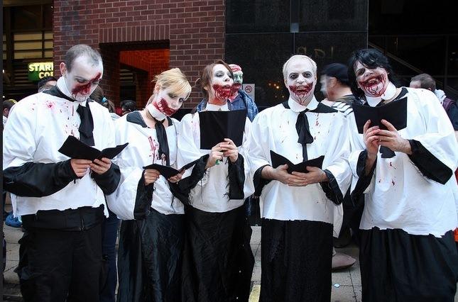 Zombie Choir, by Khima Thapa