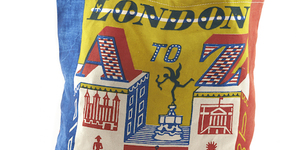 London Gift Guide: London A-Z Tote Bag