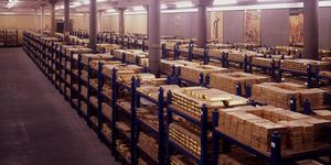 Where Are London's Gold Vaults?