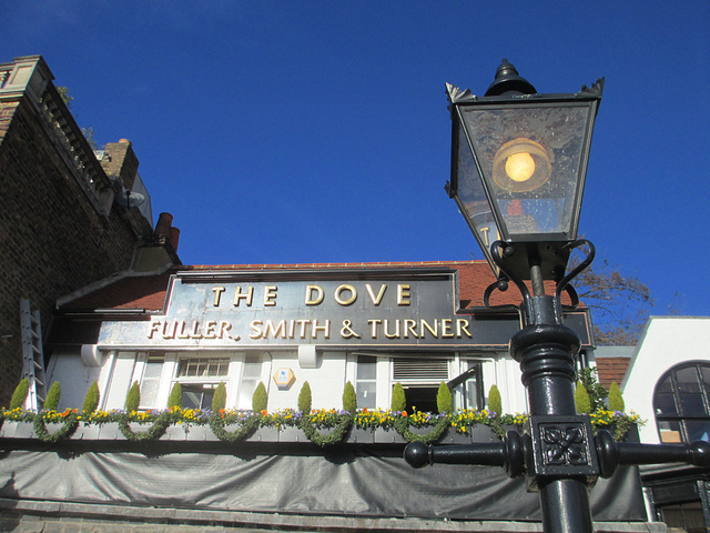 the dove in hammersmith