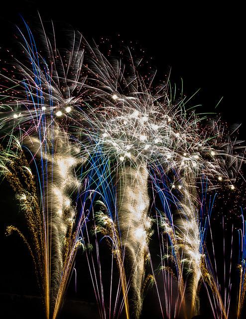 Weavers Field Fireworks by Dianne Aleja Chua