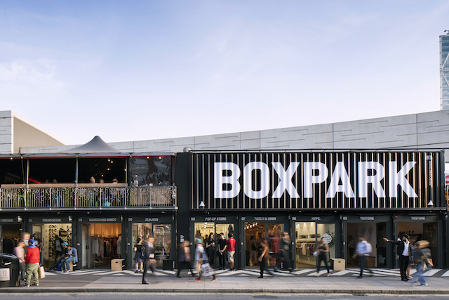 Join The Xmas Lights Switch On @BOXPARK