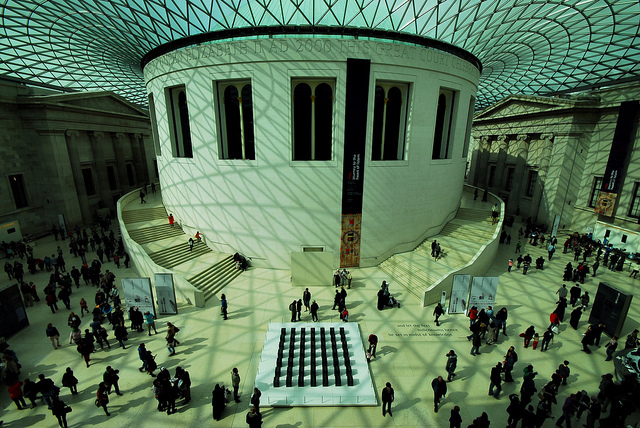 The British Museum by Richard Watkins LRPS