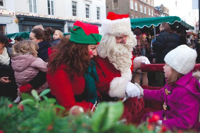 A Magical Christmas Comes To Belgrave Square Garden