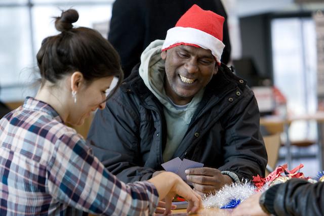 Christmas 2014: Volunteering In London