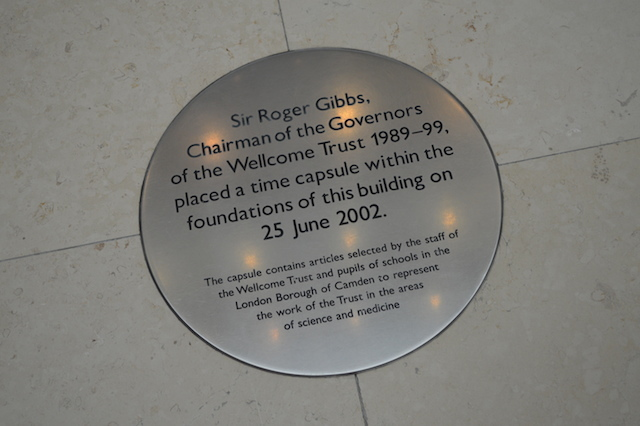 The Gibbs Building includes a time capsule.
