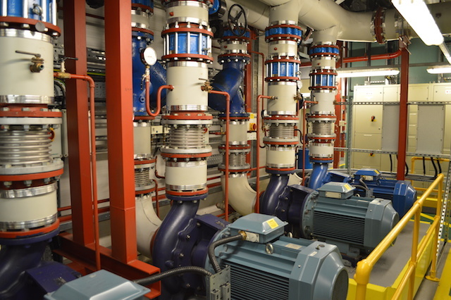 The Wellcome Trust's plant room.