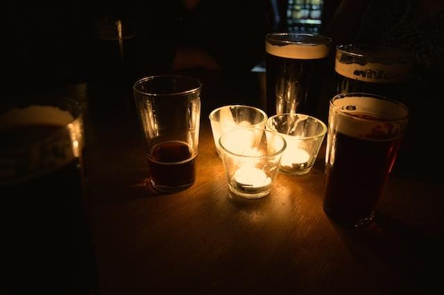Cosy bar.