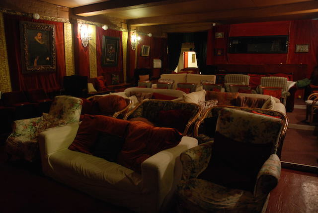 Cinema room inside Sands Film