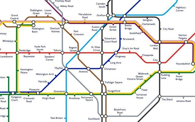 all 270 london tube stations renamed londonist