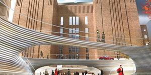 Designs For New Public Square At Battersea Power Station