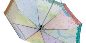 London Gift Guide: London-Themed Brollies