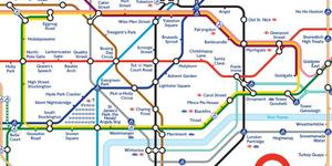Alternative Tube Maps: Merry Christmas