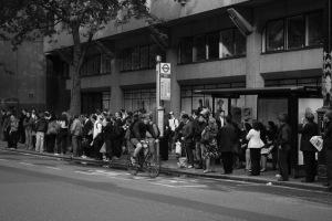 bus queue