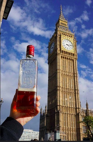 London beer, London gin + London water + London!