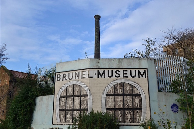 The chimney of the Engine House at Brunel Museum in Rotherhithe. Photo: psyxjaw