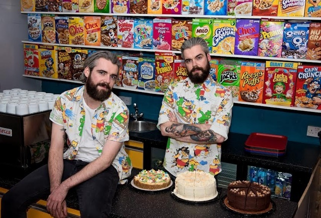 Cereal Killer Café founders Alan and Gary Keery