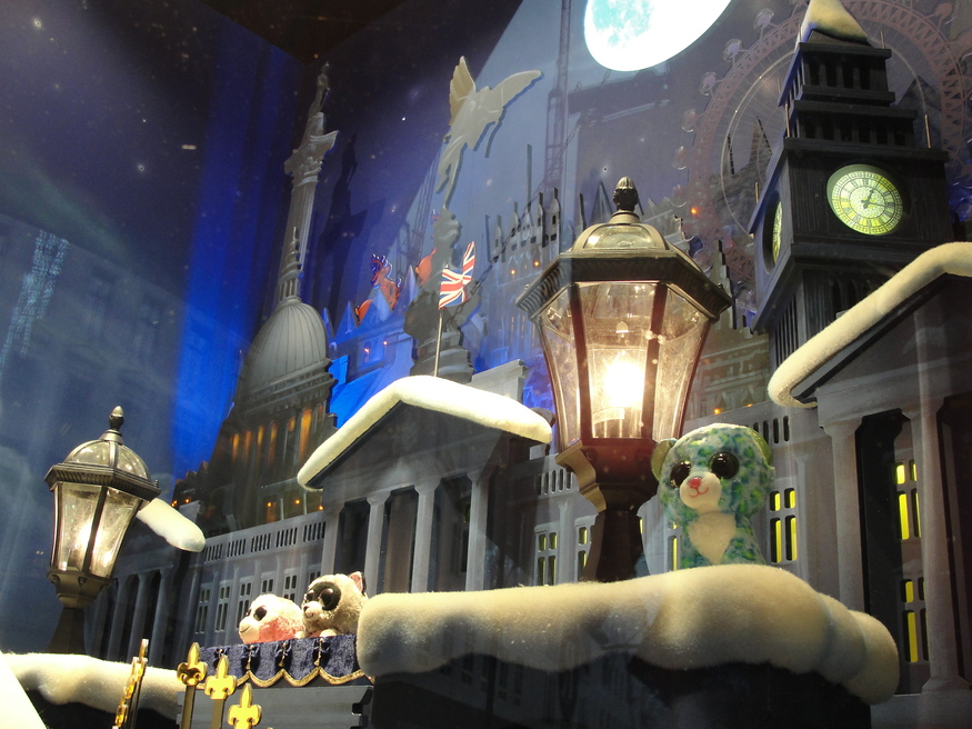 Hamleys has imagined a Dickensian London overrun with disarmingly adorable bits of saucer-eyed fluff.