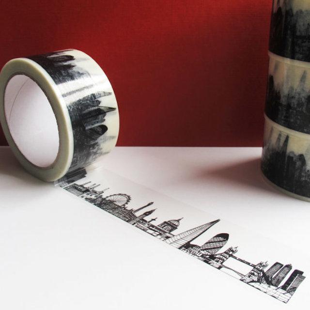 London Gift Guide: Skyline Sticky Tape