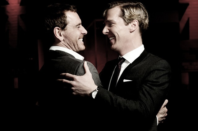 Benedict Cumberbatch and Michael Fassbender. Photo credit Idil Sukan.