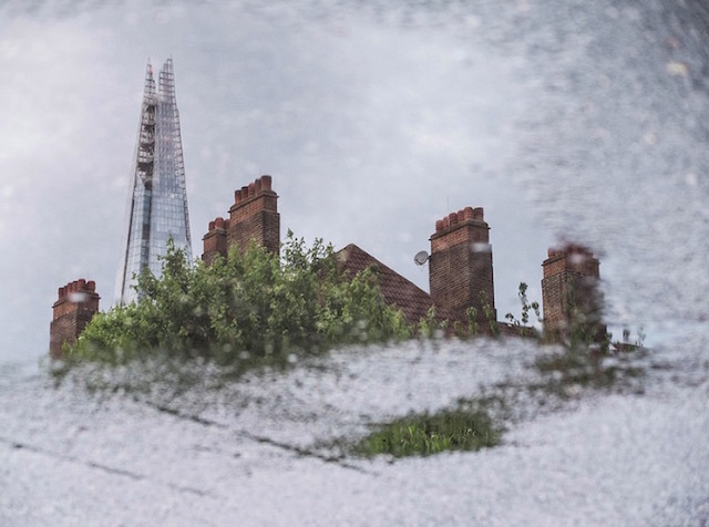 The rooftops of Tabard Gardens, and The Shard. Photo: Mc Gale