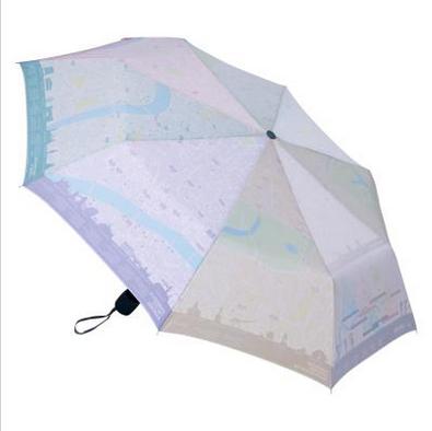 Map umbrella open