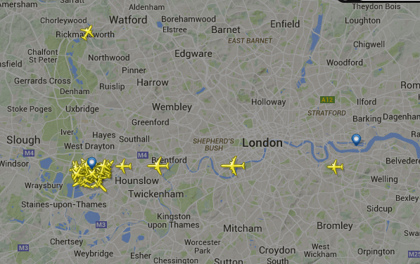 Power Outage Closes London Airspace