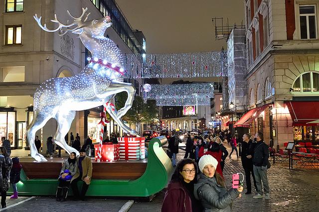 Christmas selfie, by Arpad Lukacs