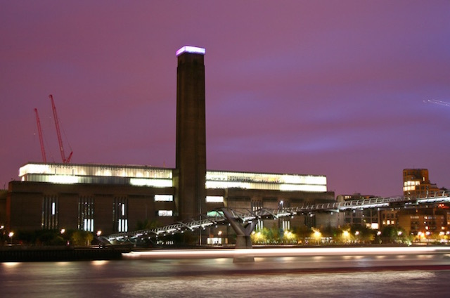 Tate Modern on Bankside (formerly Bankside Power Station). Photo: Deadly Happy