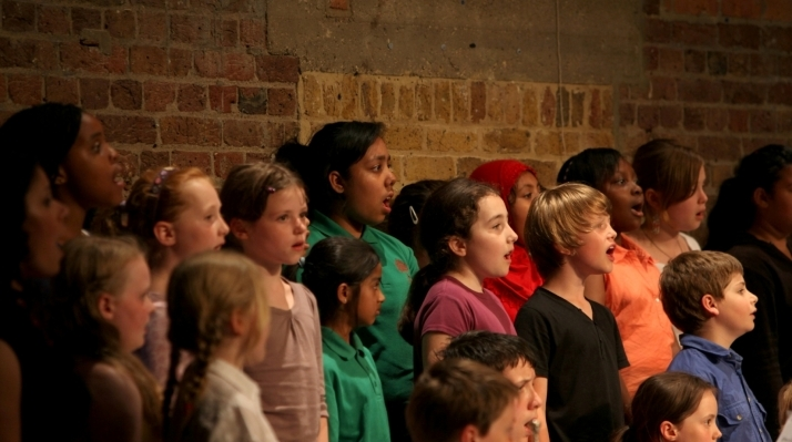 Young singers from Tower Hamlets