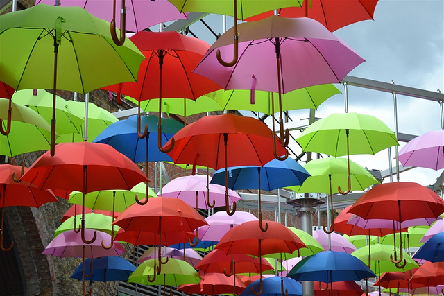 Dont Be A Brolly Wally In London Londonist