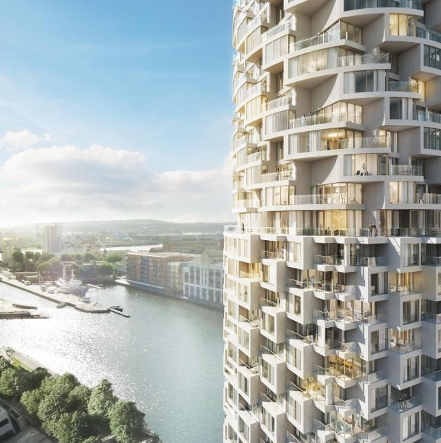 Loofah Tower Coming To Wood Wharf