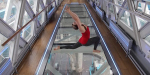 Take Yoga To New Heights On Tower Bridge's Glass Floor