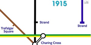 Video: Why Is The Bakerloo Line At Charing Cross So Far Away?