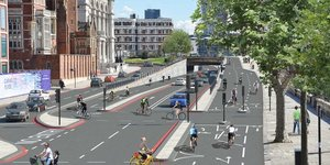 Embankment Cycle Superhighway Gets Green Light
