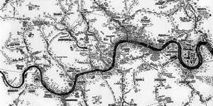 Rivers Of London: Amazing Hand-Drawn Map By Stephen Walter