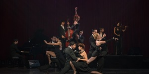 Tango Fire Sets The Peacock Theatre Ablaze With Desire