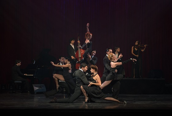 Tango Fire's Flames Of Desire will be Peacock Theatre until 14 Feb 2015.
