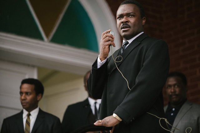 "In this image released by Paramount Pictures, David Oyelowo portrays Dr. Martin Luther King, Jr. in a scene from ""Selma."" (AP Photo/Paramount Pictures, Atsushi Nishijima) ** Usable by LA, DC, CGT and CCT Only **"