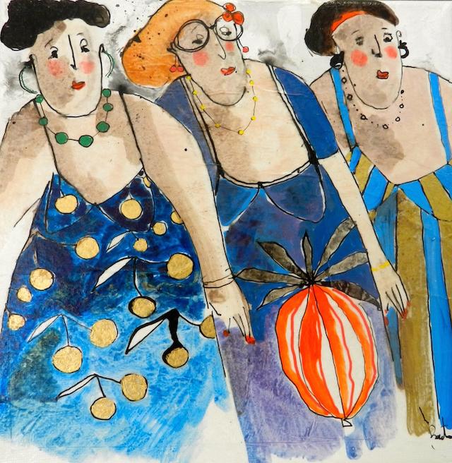 Martine, Yolande, Nine, 2014. By Cécile Colombo