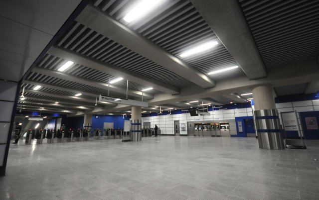 New ticket hall