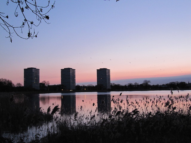 East Reservoir at dawn. Image: Helen Babbs