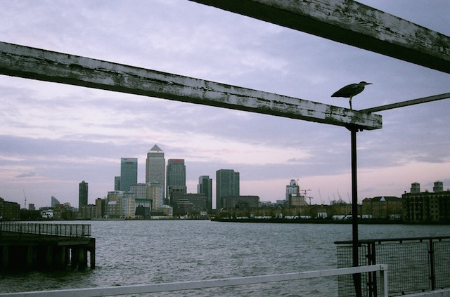 Canary Wharf in 2008. Photo: Edward Simpson