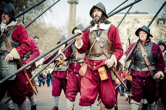 Did you see the commemoration of Charles I's execution on Sunday? Photo by Annmarie Meredith from the Londonist Flickr pool