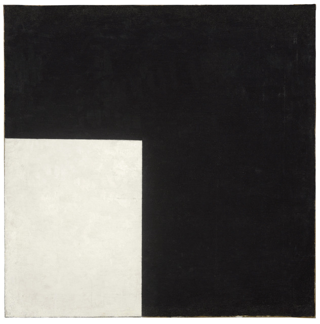 Inventarienr: MOM/2004/97 Konstnärens namn: Kazimir Malevitj Titel: Black and White. Suprematist Composition Datum: 1915