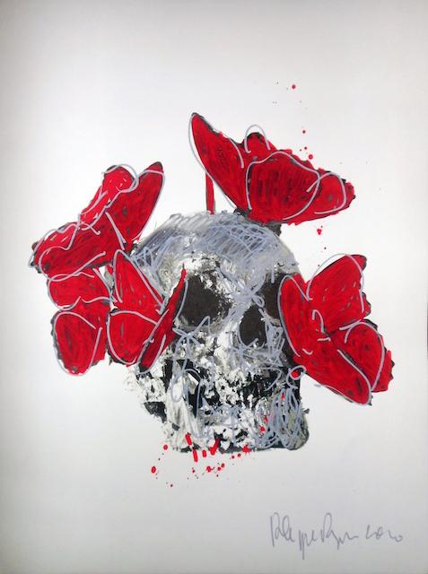 Vanité Papillons, 2010. By Philippe Pasqua