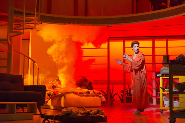 WOMEN ON THE VERGE OF A NERVOUS BREAKDOWN,             , Director Bartlett Sher, Writer - Jeffrey Lane, Music - David Yazbek, Choreography - Ellen Kane, Set Design - Anthony Ward, Lighting - Peter Mumford, Playhouse Theatre, London, 2014: Credit - Johan Persson/
