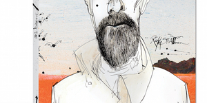 See Ralph Steadman's Breaking Bad Portraits In Shoreditch