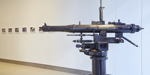 Guns In A Gallery By Chu Enoki