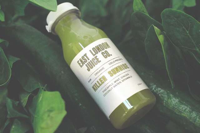 Have an energetic juice made fresh by East London Juice Co.